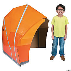 Cardboard Mountain Tent Stand-Up