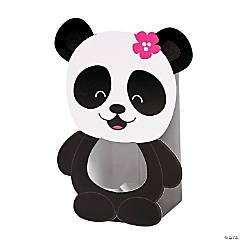 Cardboard Panda Party Treat Boxes