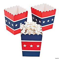 Cardboard Patriotic Popcorn Boxes