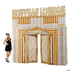 Cardboard Roaring '20s Club Entryway Arch