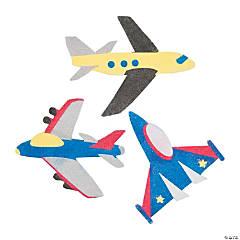 Cardboard Sand Art Airplanes