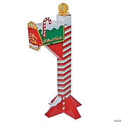 Cardboard Santa's Mailbox Stand-Up