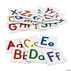 Cardboard Sensory Letters