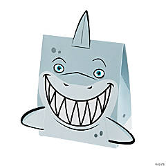 Cardboard Shark Treat Boxes