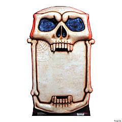 Cardboard Skull Signboard