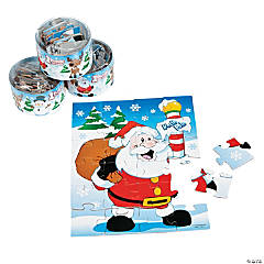 Cardboard Snow Buddies Jigsaw Puzzles
