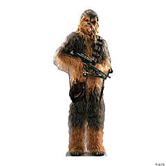 Cardboard Star Wars VII Chewbacca Stand-Up
