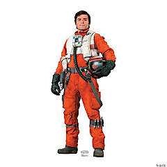 Cardboard Star Wars VII Poe Stand-Up