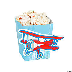 Cardboard Up & Away Popcorn Boxes