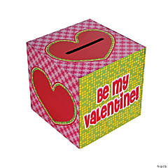 Cardboard Valentine Card Box