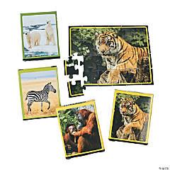 Cardboard Wildlife Animal Puzzles