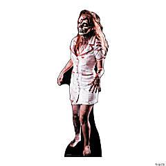 Cardboard Zombie Nurse
