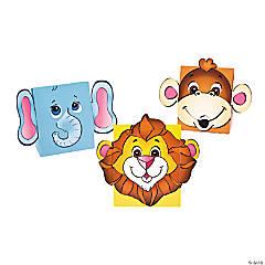Cardboard Zoo Animal Treat Boxes