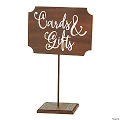 Cards & Gifts Table Sign