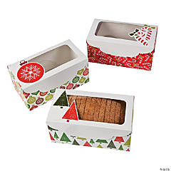 Cardstock Christmas Loaf Boxes