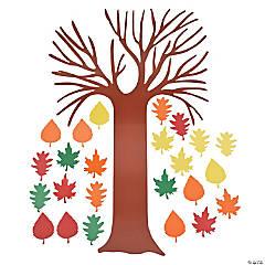"Cardstock DIY Bulletin Board Set - ""Tree of Thanks"""