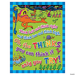 Cardstock Dr. Seuss™ Think Left Think Right Poster