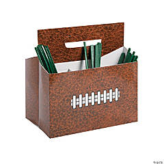 Cardstock Football Utensil Caddy