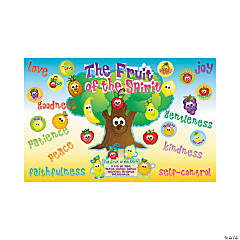 Cardstock Fruit of the Spirit Bulletin Board Set