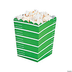 Cardstock Mini Football Popcorn Boxes