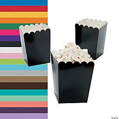 Cardstock Mini Popcorn Boxes