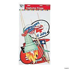 Cardstock Patriotic Photo Stick Props