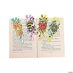 Cardstock Smashed Bugs Bookmarks