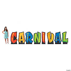 Carnival Letter Stand-Ups