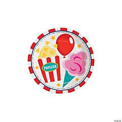 Carnival Paper Dessert Plates - 8 Ct.