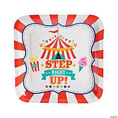 Carnival Paper Dinner Plates - 8 Ct.