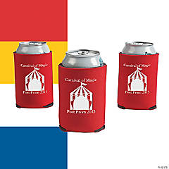Carnival Personalized Can Coolers