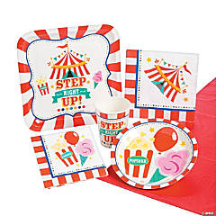 Carnival Tableware Kit for 8 Guests