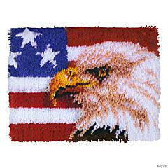 Caron Latch Hook Kit - American Eagle