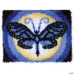 Caron Latch Hook Kit - Butterfly Moon