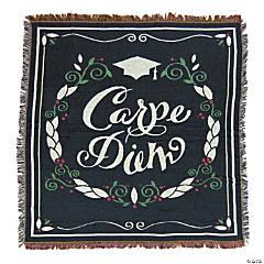 Carpe Diem Grad Throw Blanket