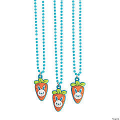 Carrot & Bunny Necklaces
