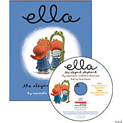 Carry Along Book & CD, Ella the Elegant Elephant