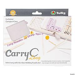 Carry C Interchangeable Bamboo Knitting Needle Long Set
