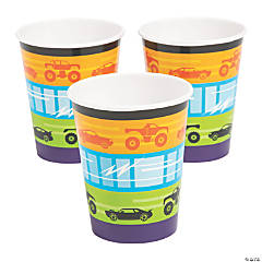 Cars & Trucks Cups