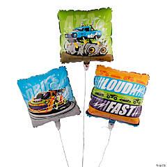 Cars & Trucks Mylar Balloons