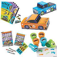 Cars & Trucks Party Favor Kit for 12