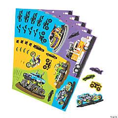 Cars & Trucks Sticker Sheets