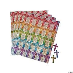 Carson-Dellosa® Dazzle Crosses Sticker Sheets