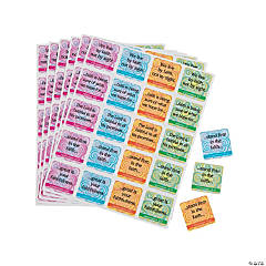 Carson-Dellosa® Faith Verses Sticker Sheets