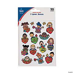 Carson-Dellosa® I Love Jesus Children Sticker Sheets