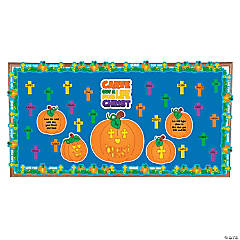 Carve Out a Life for Christ Bulletin Board Set