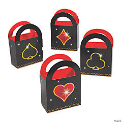 Casino Night Favor Box Bags