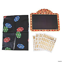 Casino Night Photo Booth Kit