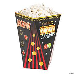 Casino Night Popcorn Boxes