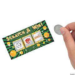 Casino Night Scratch-Off Tickets